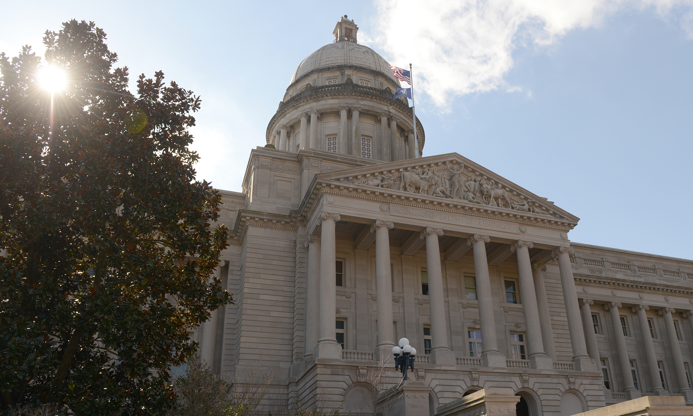 Kentucky Capitol Building in Frankfort