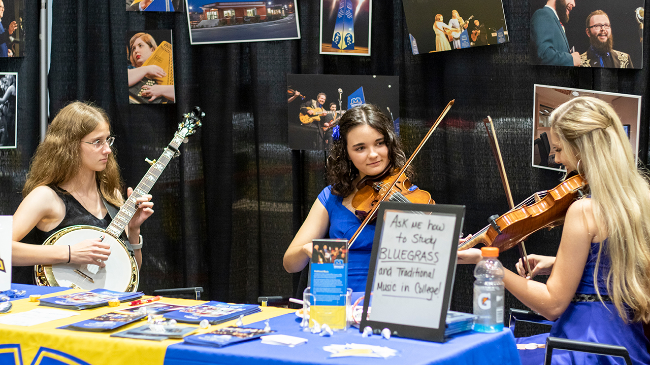 KCTM students and alumni showcase talents at bluegrass conference