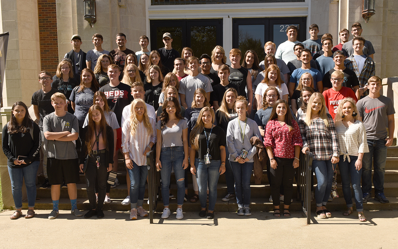 Powell County High School students visit Eagle Scholars program