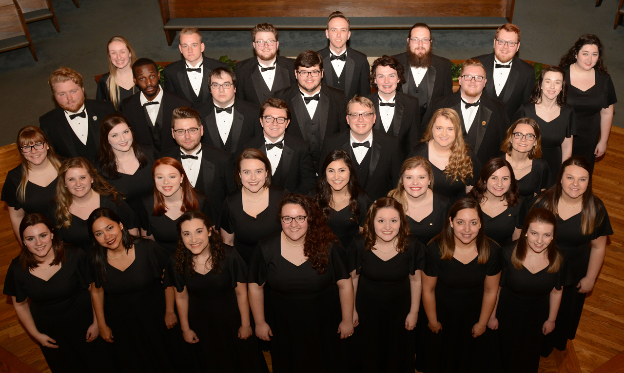 The Morehead State University Concert Choir and Chamber Singers will return to Morehead to present a concert with dessert at 7:30 p.m. Tuesday, April 23, at First Baptist Church at 123 East Main Stree