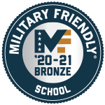 Military Friendly - Bronze level - link to more info