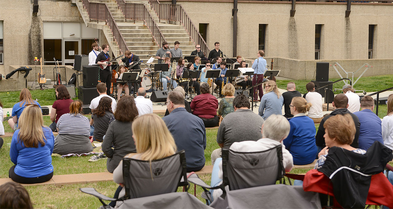 President's Annual Concert on the Lawn highlights students' talents
