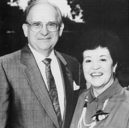 Dr. Nelson Grote and Wilma Grote