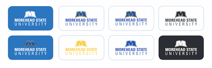 morehead state university logos color typeface
