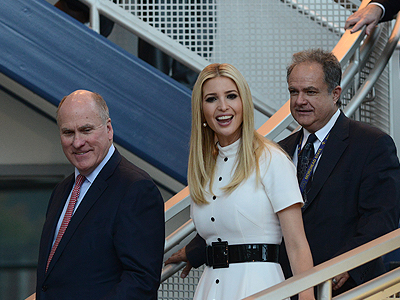 Joe Craft, Ivanka Trump and Ben Malphrus