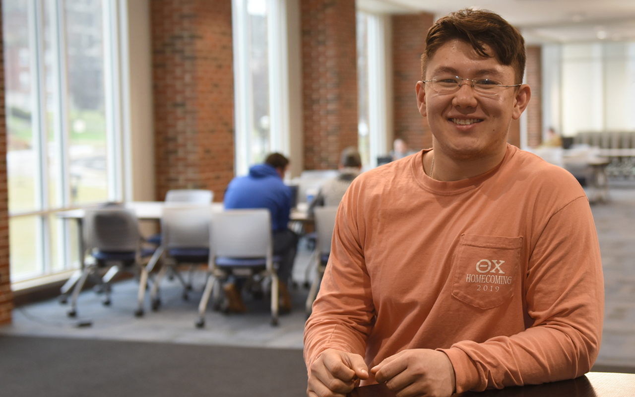 Instead of sticking close to home and attending larger institutions, Kaelin Yi felt the best place for him to fulfill his military ambitions and career goals was to attend Morehead State University.