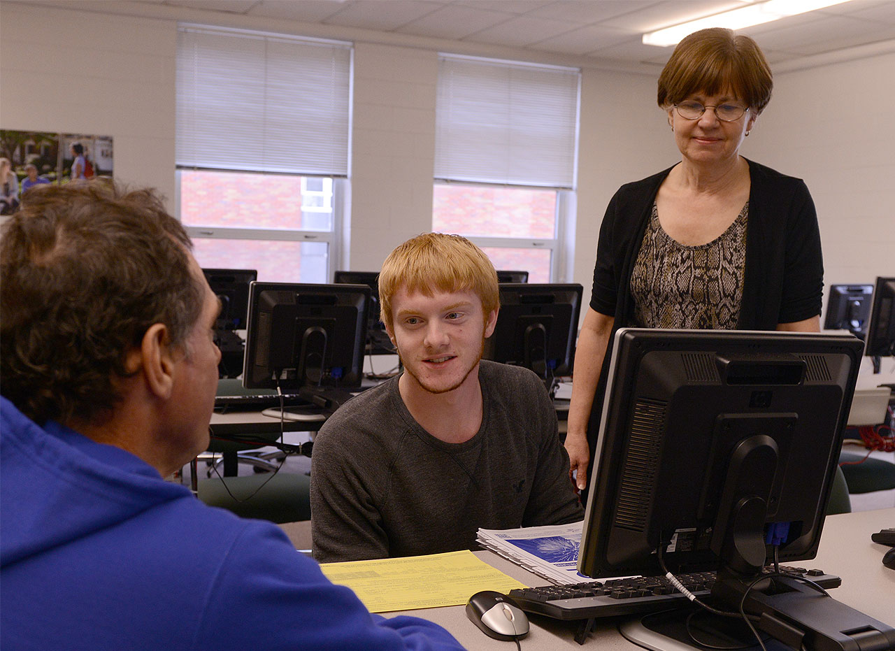 Accounting students will help people file taxes through the VITA program.