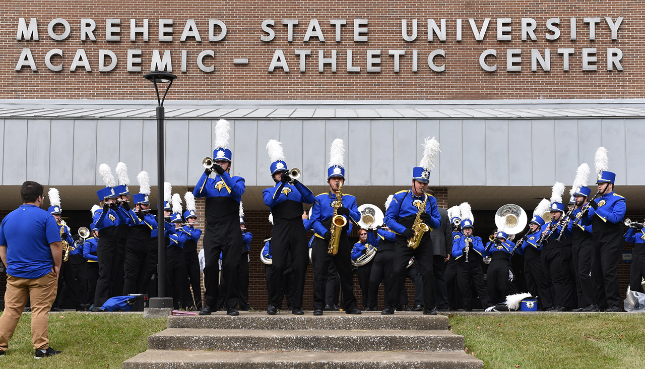 Students, alumni, faculty staff and friends of Morehead State University returned and reconnected to celebrate the blue and gold as One Eagle Family during MSU's annual Homecoming Weekend.
