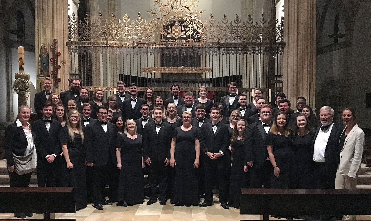Concert Choir and Chamber Singers complete Spain tour